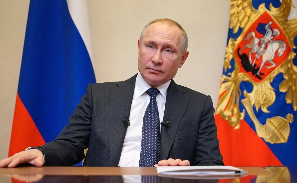 Президент РФ выступил с очередным обращением к нации