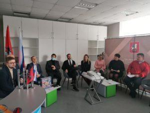 Установочная сессия проекта «Молодежная школа Уполномоченного по защите прав предпринимателей»